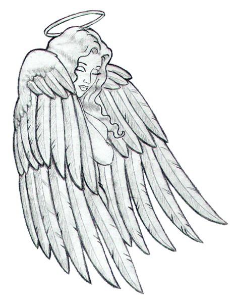 464x600 Sad Angel By Frank Rosalez