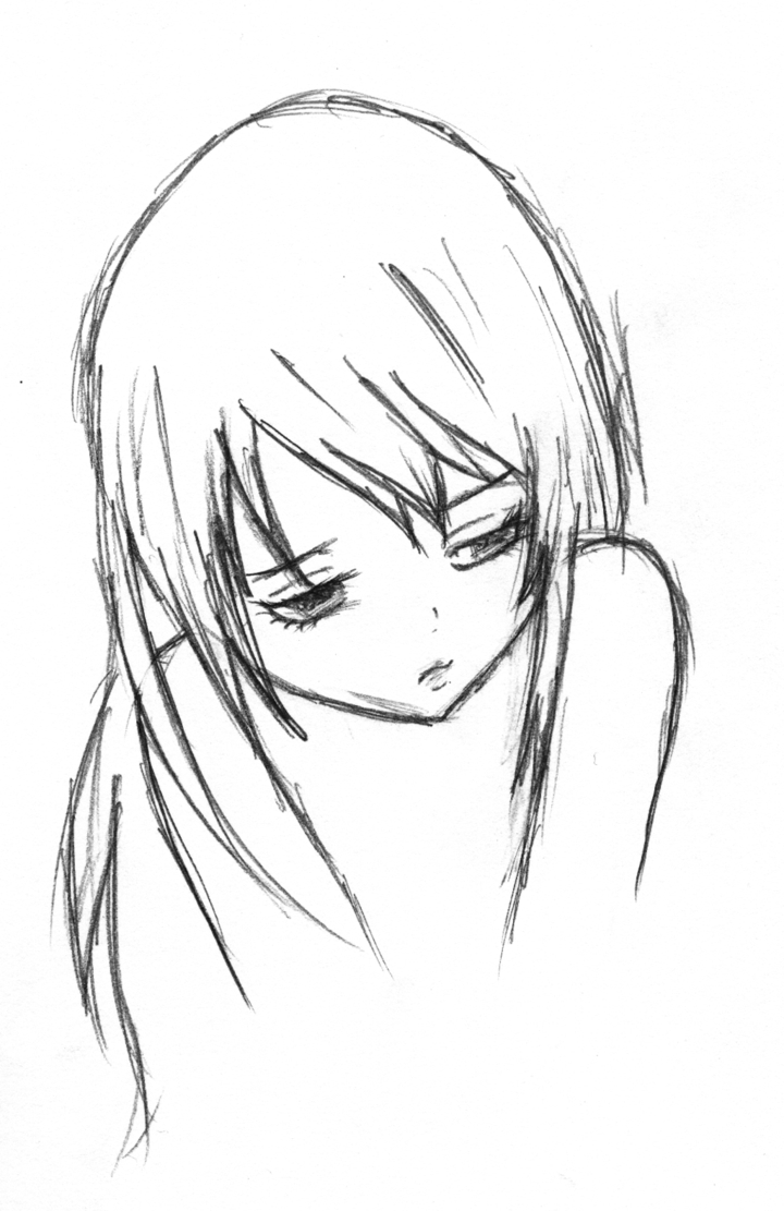 720x1111 sad anime boy pencil sketch sad images in love sketches sad anime