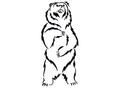 236x177 Pics For Gt Standing Grizzly Bear Vector Bears