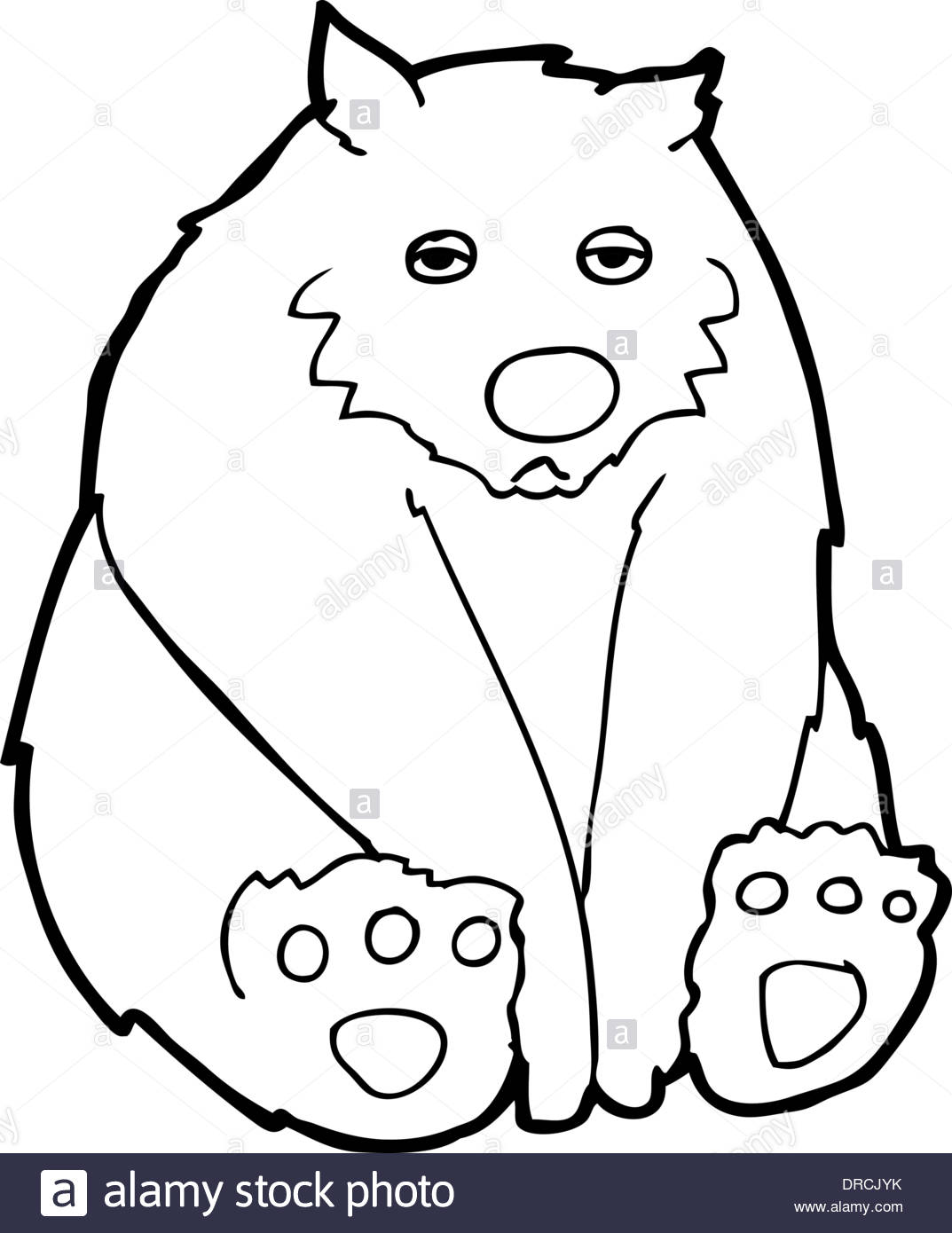 1073x1390 Cartoon Sad Bear Stock Vector Art Amp Illustration, Vector Image