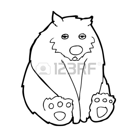 450x450 Cartoon Sad Bear Royalty Free Cliparts, Vectors, And Stock