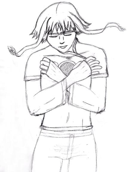 432x576 Sad Boy Sketch By Suishou13