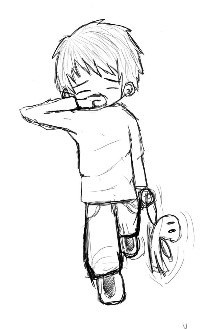 676x1068 Sad Boy By Afoxen