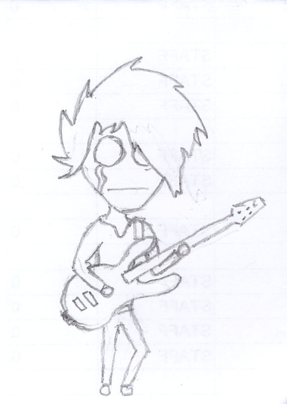 570x800 Sad Emo Guitarist By Ripped Boot