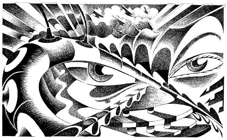737x455 Sad Eyes Remember The Future Drawing By Ciro Pignalosa