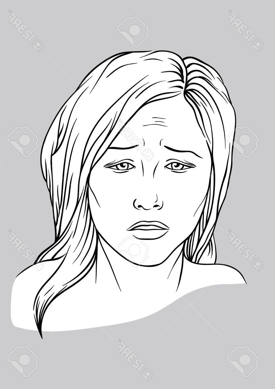 Sad Face Drawing at GetDrawings | Free download