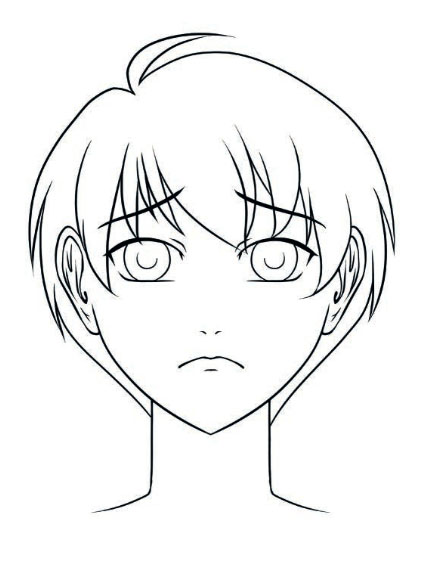 434x561 photos sad manga face
