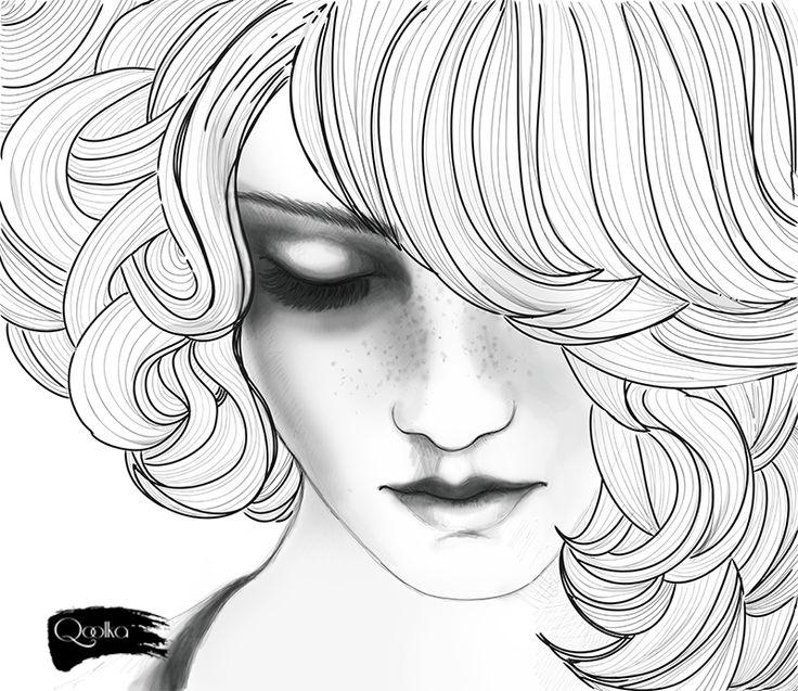Art Girl Sad Girl Drawing Ideas