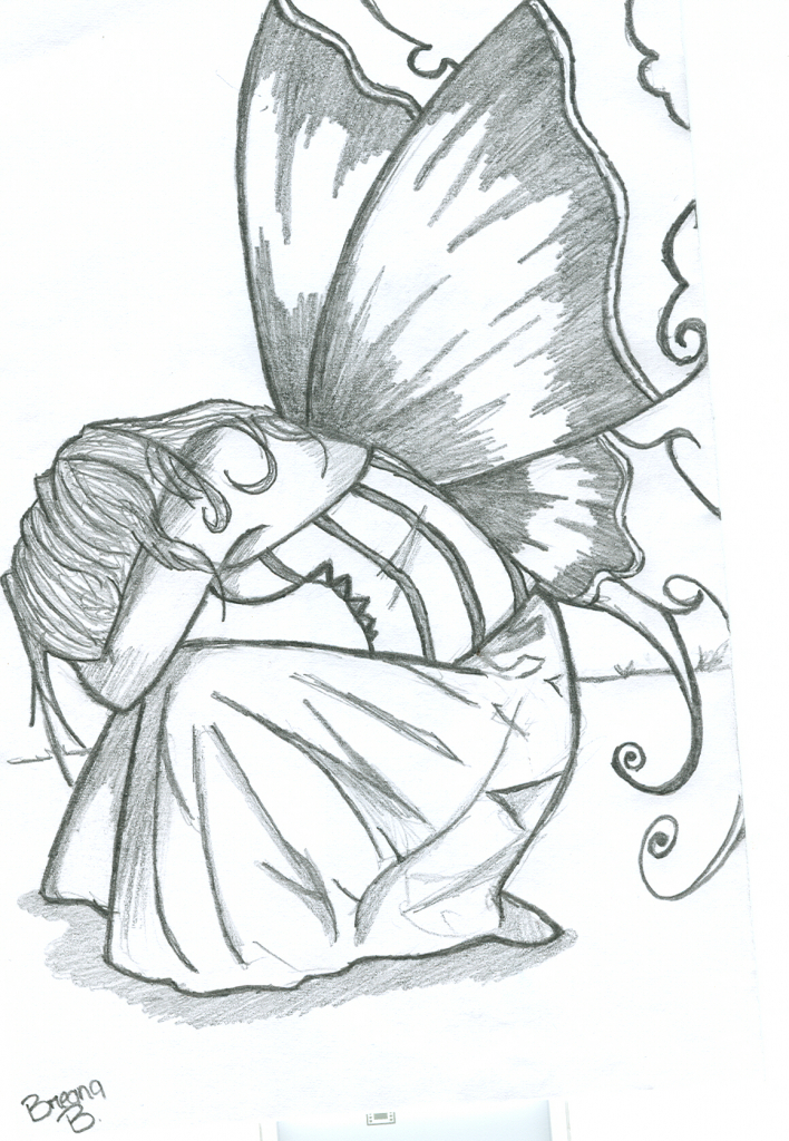 708x1024 Fairy Drawings In Pencil Images About Pencil Drawings