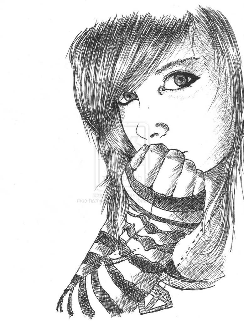 779x1026 images pencil sketch lonely sad girl pencil sketch