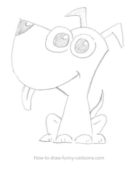 450x551 Drawn Puppy Drawing