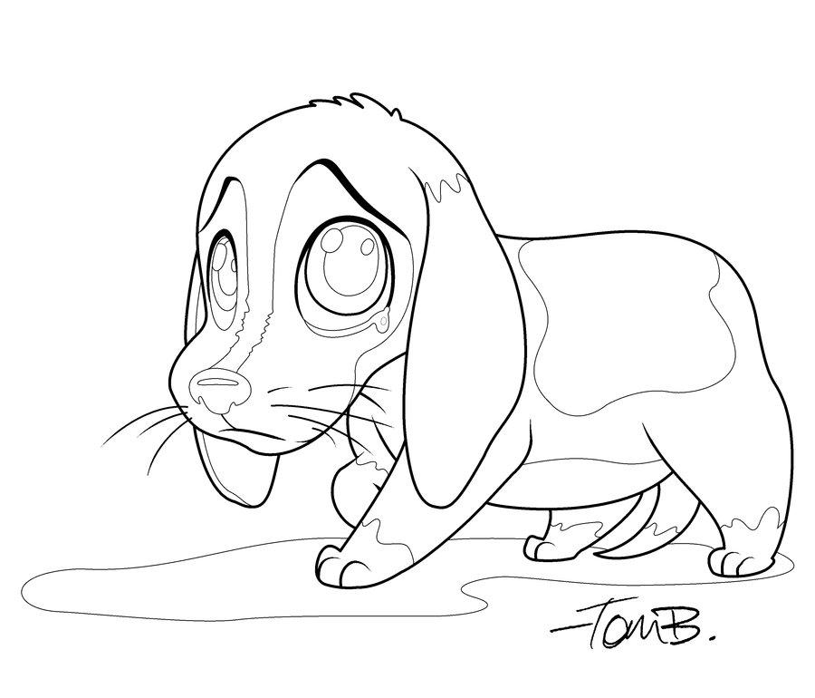 900x770 Sad Beagle Coloring Page By Kilowatts62