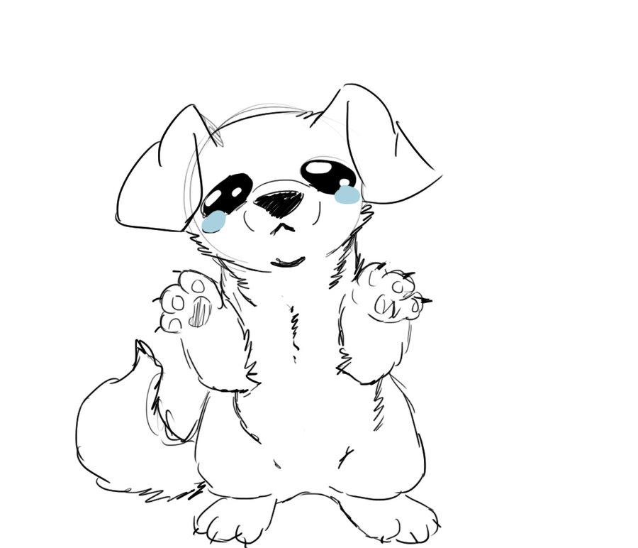 900x772 Sad Puppy By Zombietiny