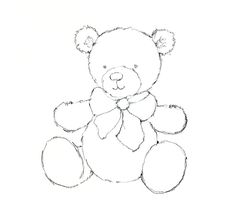 236x216 How To Draw A Teddy Bear With Easy Step By Step Drawing Tutorial