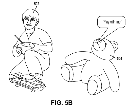 501x431 Sony Patents A Teddy Bear That Gets Sad If You Don'T Play With It