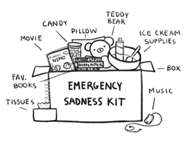 640x498 Emergency Sadness Kit It's In The Book Sadness