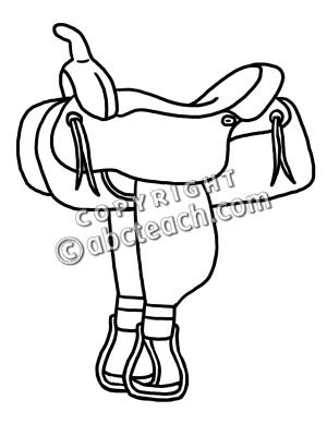300x400 Saddle Drawing