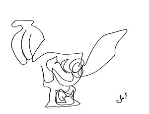 300x229 Saddle Horse Drawings