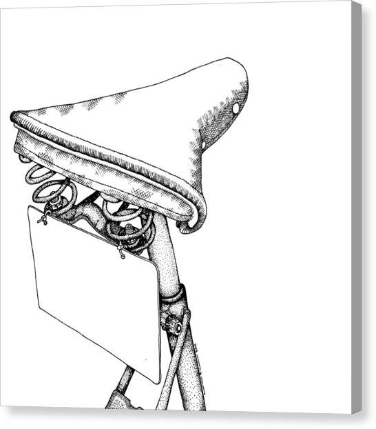546x622 Bike Saddle Drawing By Karl Addison