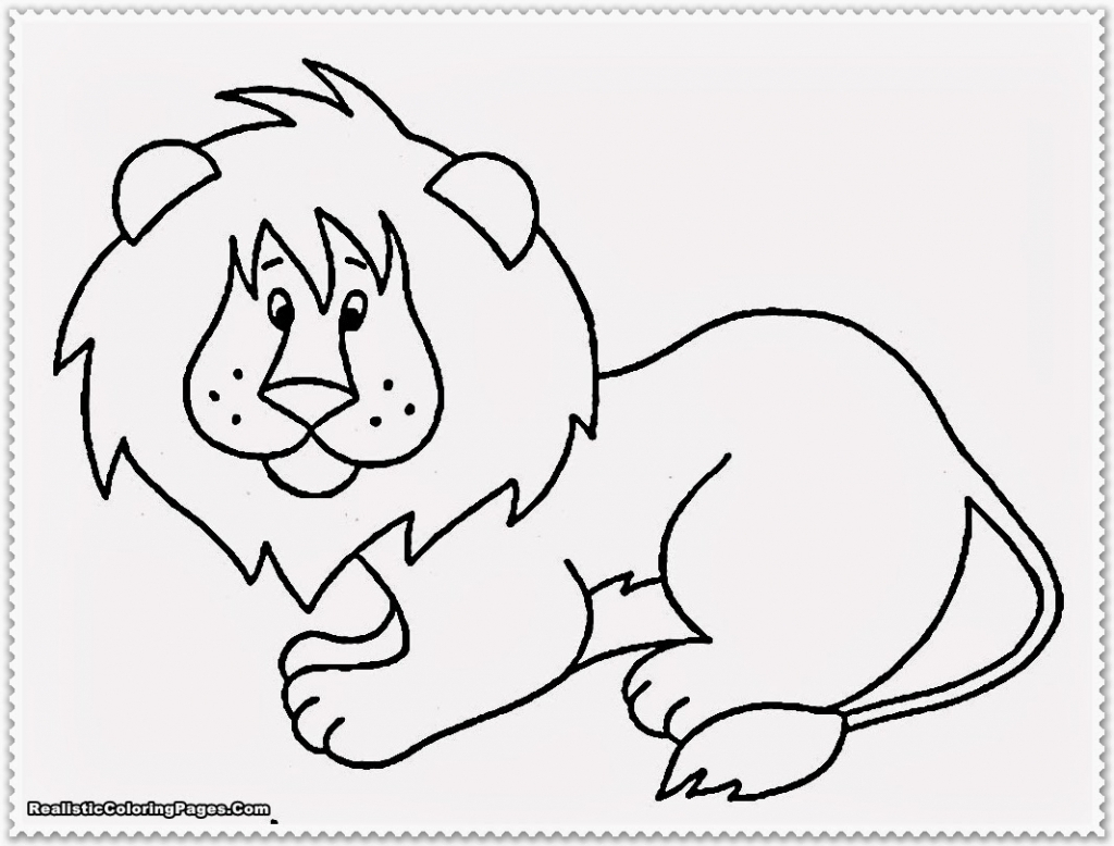 1024x778 Safari Animal Coloring Pictures