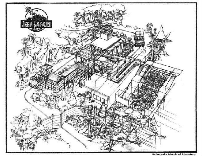 660x508 5 Awesome Jurassic Park Rides That Were Never Built