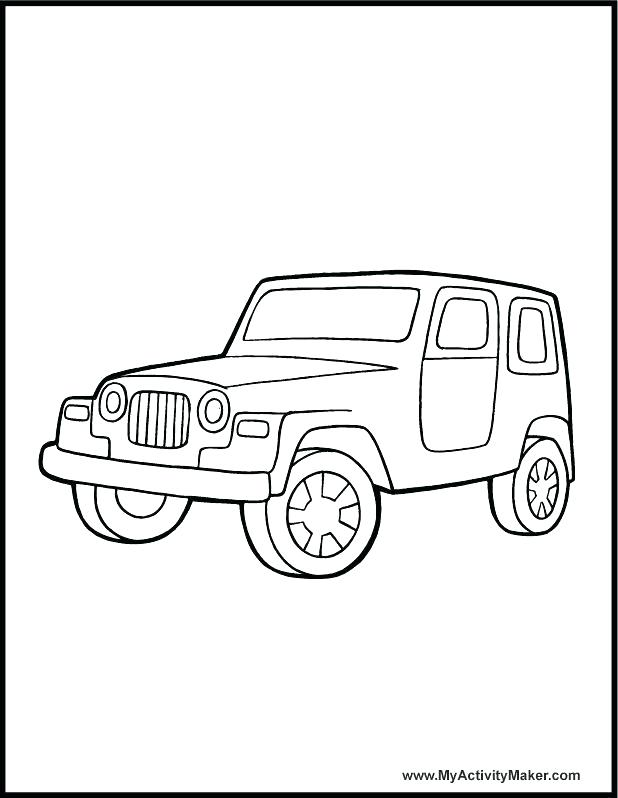 618x798 Safari Coloring Pages Jeep Coloring Pages Safari Jeep Coloring