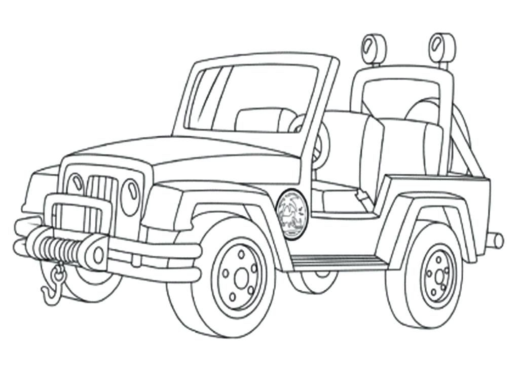 Safari Jeep Drawing At Getdrawings