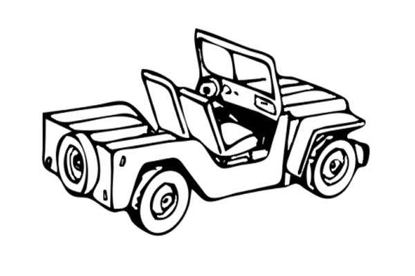 600x400 Free Jeep Coloring Pages To Print