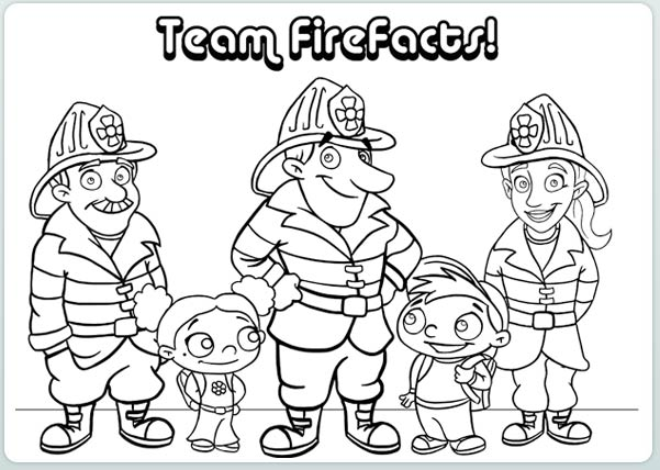 601x428 Coloring Pages Appealing Safety Coloring Pages Fire 20 Page