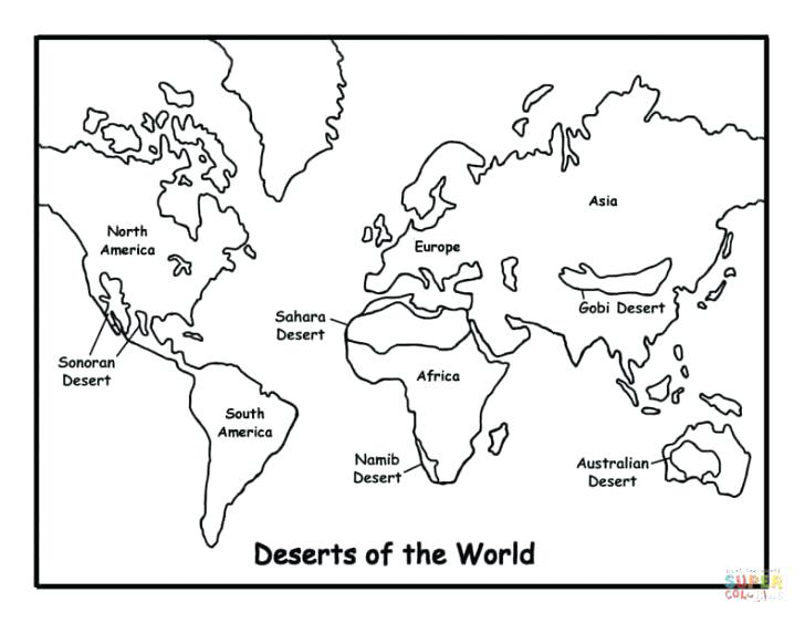 728x563 Desert Coloring Pages As Desert Coloring Pages Good Desert