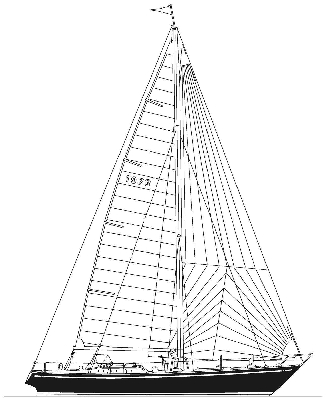 1293x1600 Sail Anjacaa A Maine Coast Sailing Tradition