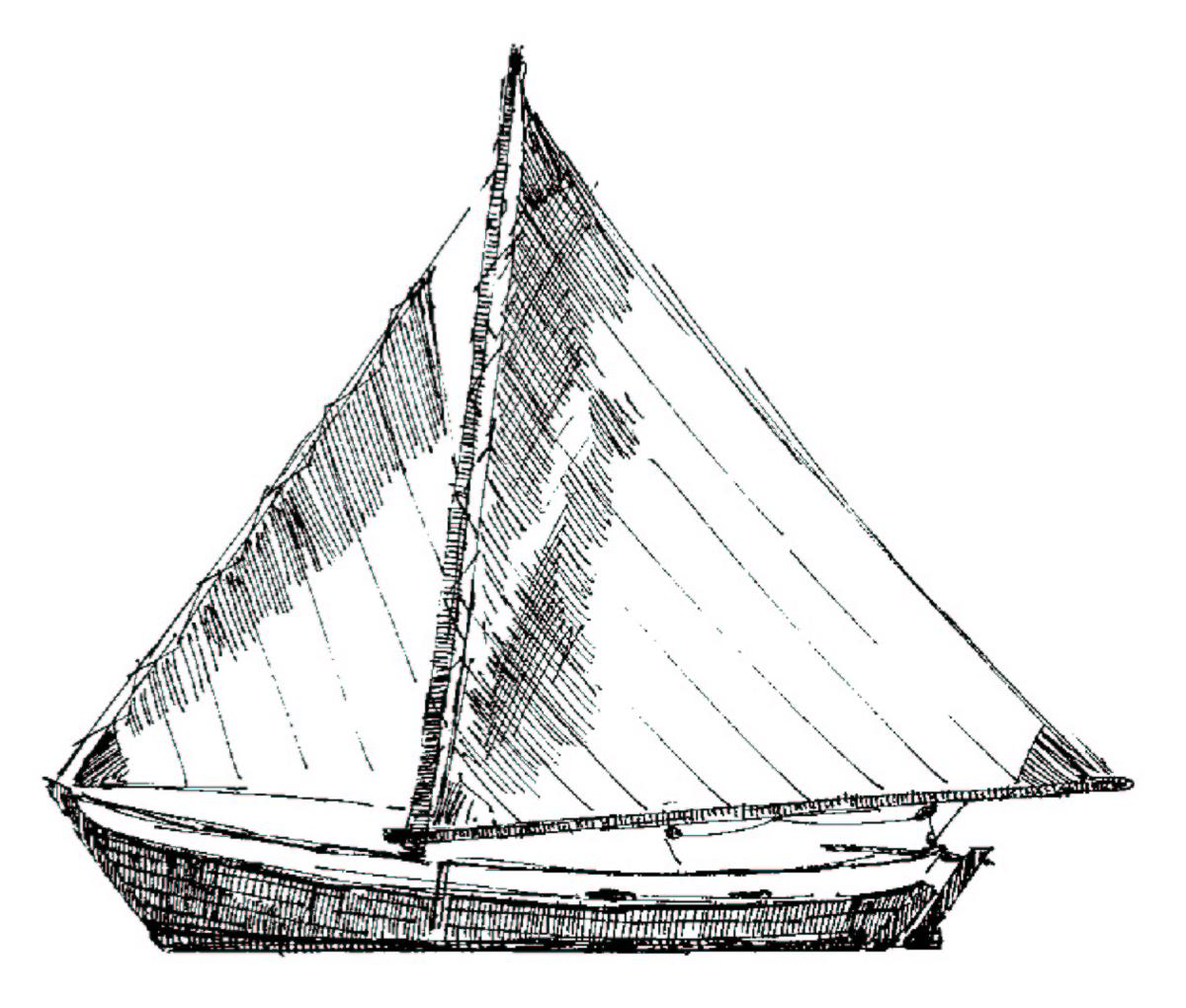 Sail Boat Drawing at GetDrawings.com | Free for personal use Sail Boat Drawing of your choice