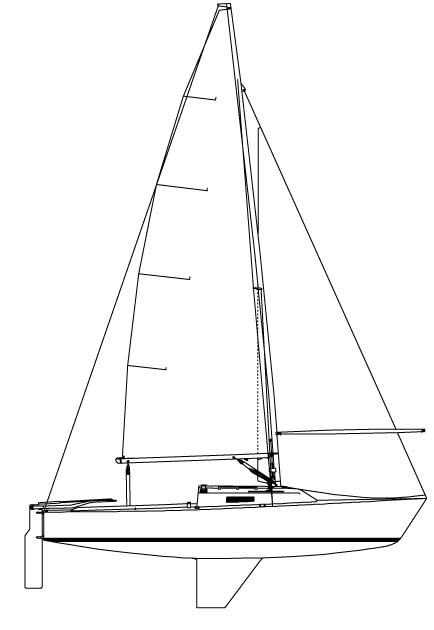 434x630 J 22 Class Sail Boat Fleet 24