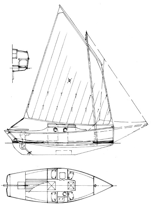 Sail Boat Line Drawing At Getdrawings Com