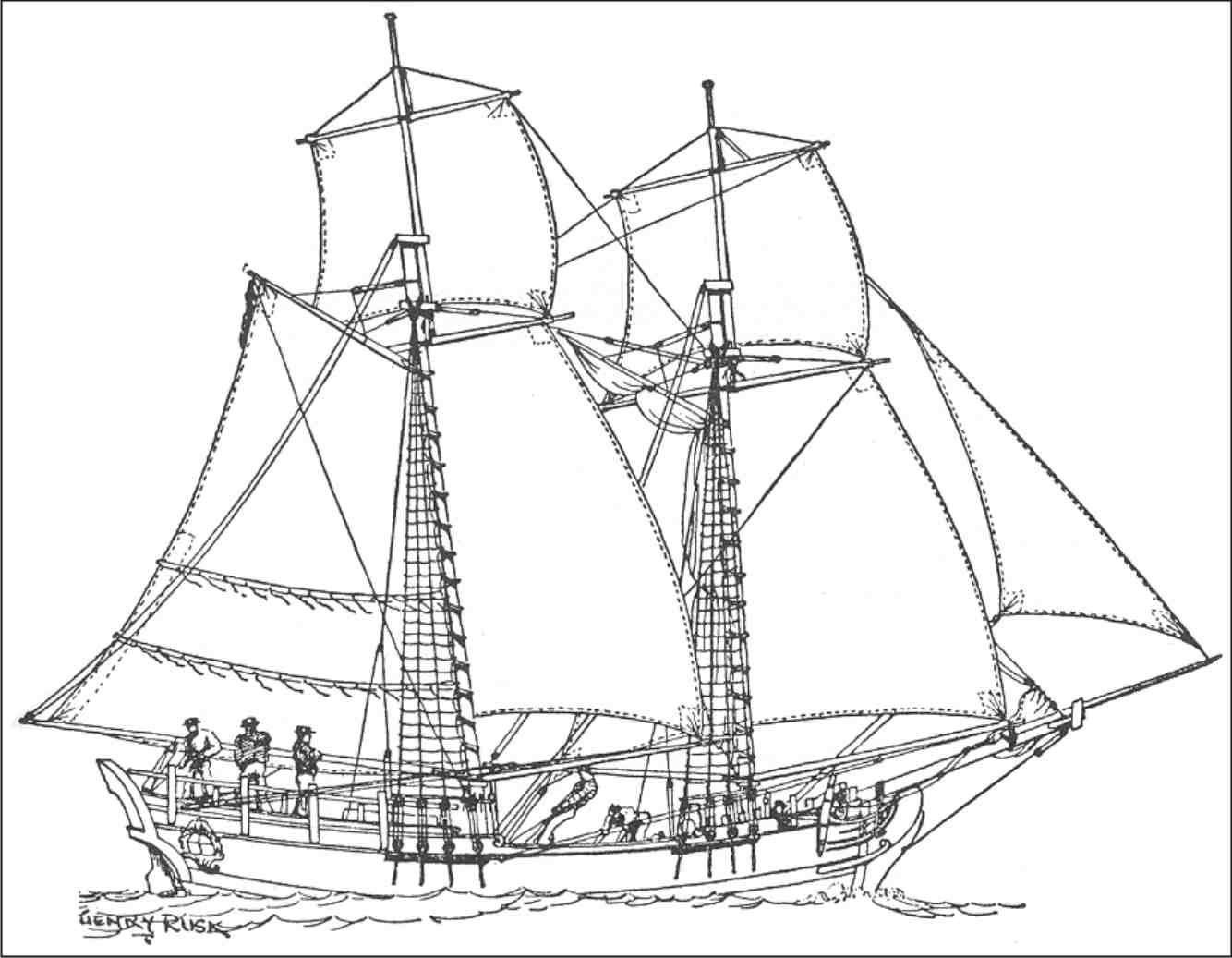 Sail boat line drawing at getdrawings free for personal use 1334x1037 line drawing of harley davidson malvernweather Gallery