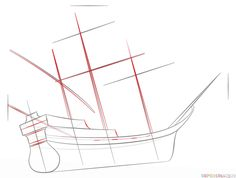 236x178 How To Draw A Pirate Ship Step By Step. Drawing Tutorials For Kids