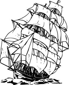 236x292 Ship Ships, Tattoo And Drawings