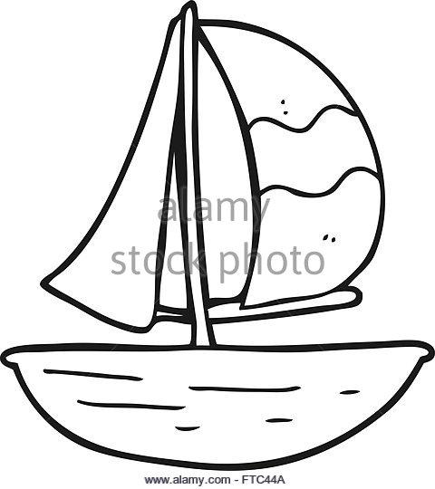 480x540 Drawn Sailing Cartoon