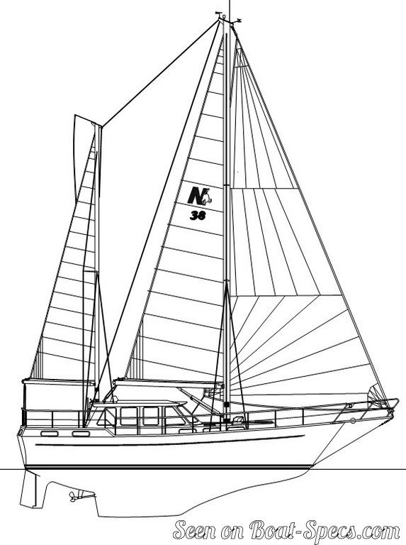 573x768 Nauticat 38 (Nauticat Yachts) Sailboat Specifications And Details