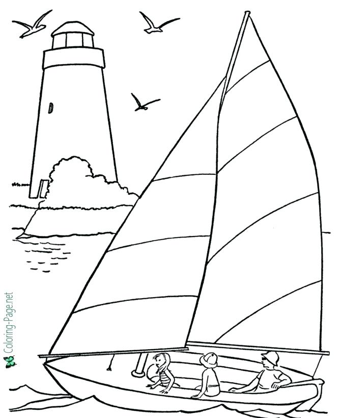 670x820 Amazing Boat Coloring Pages Online Page Free Sailboat