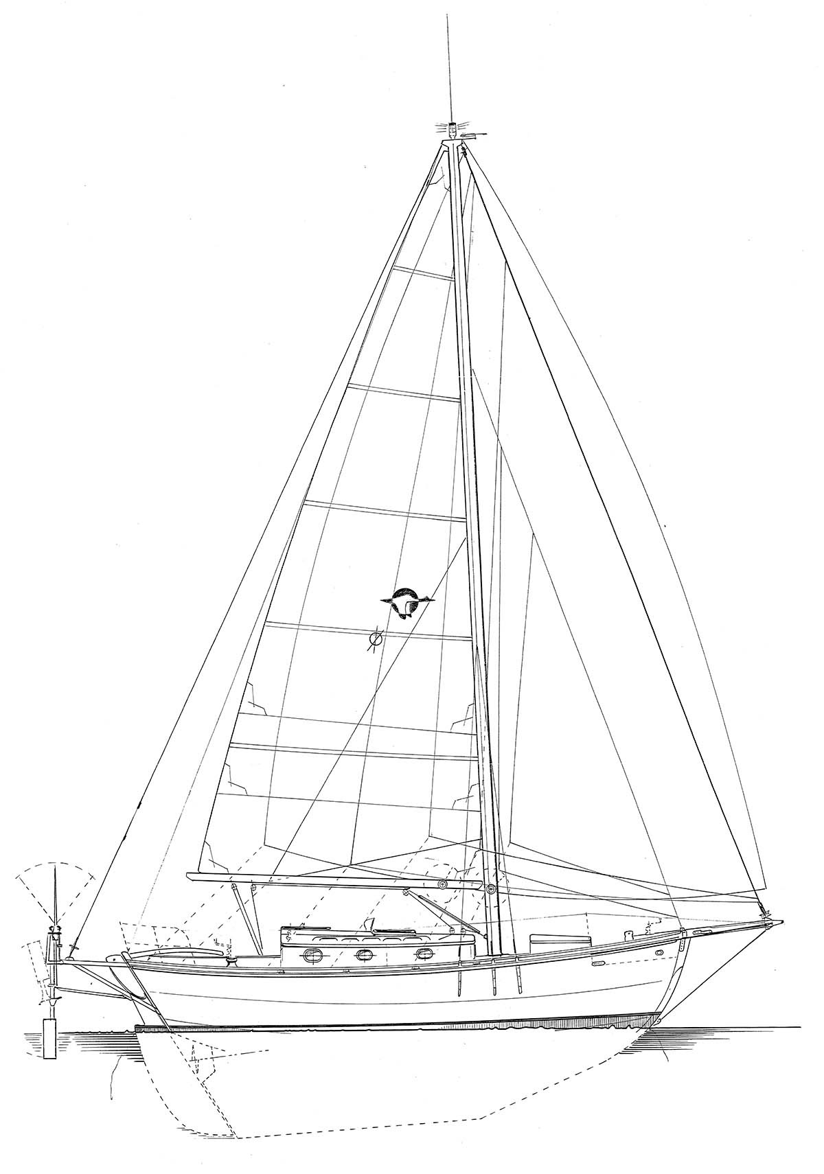 1200x1710 Sailboats Devlin Designing Boat Builders