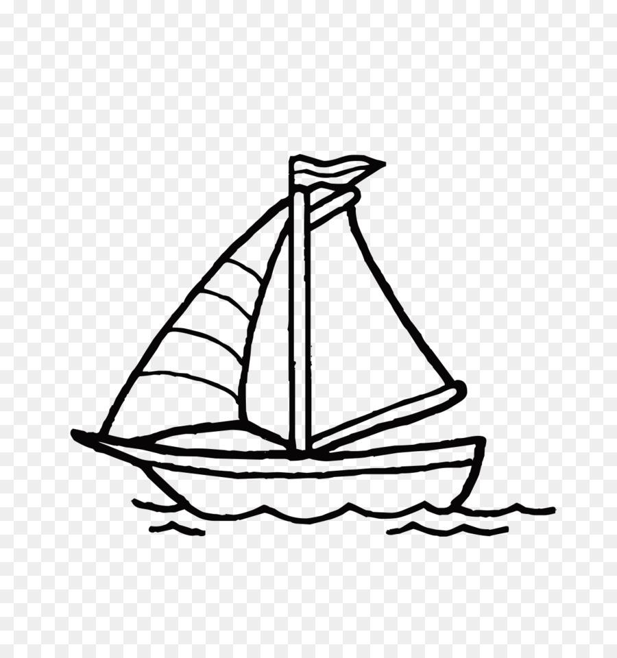 900x960 Coloring Book Sailboat Motorboat Sheet