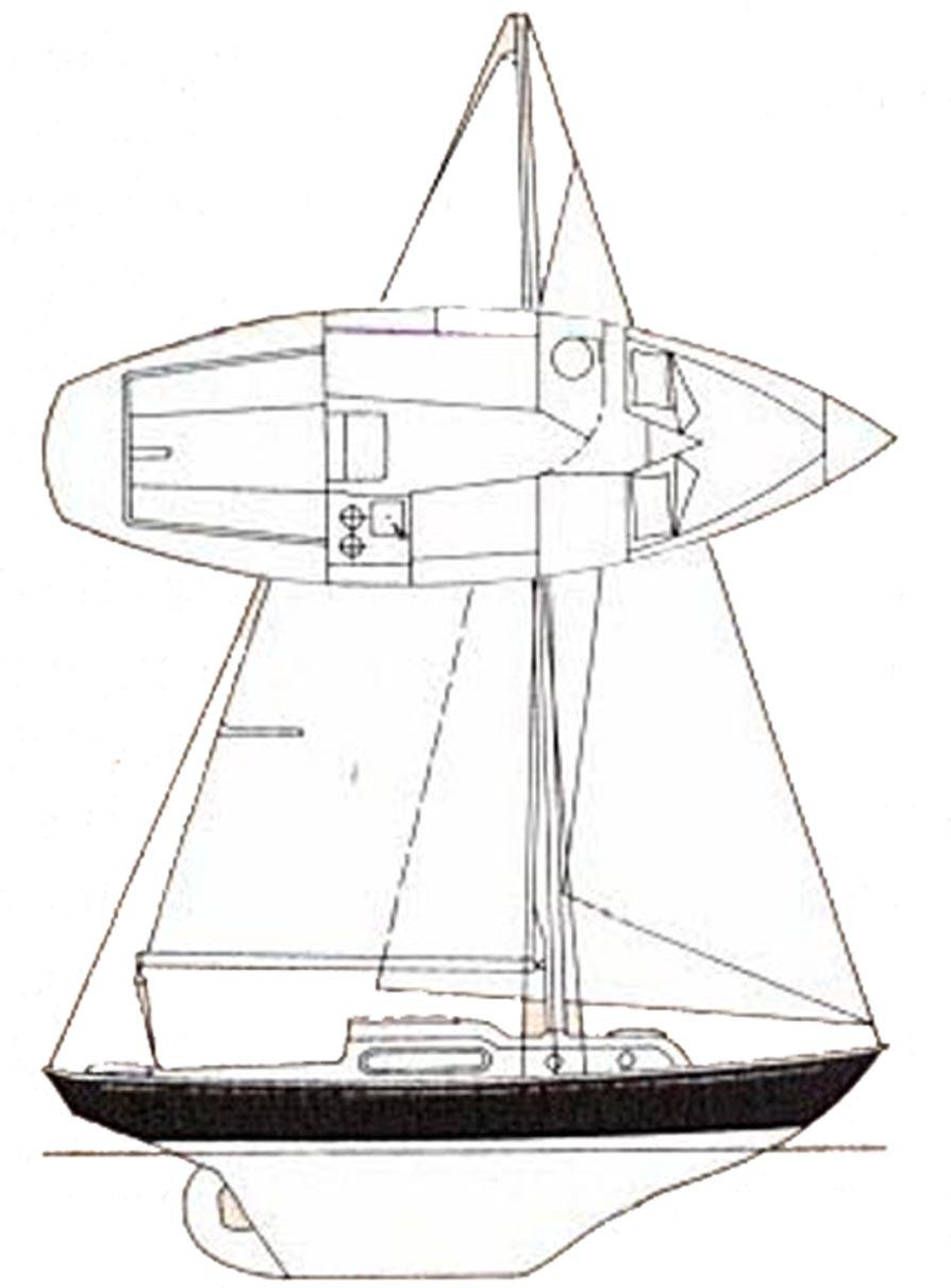Sailboat Drawing Sketch