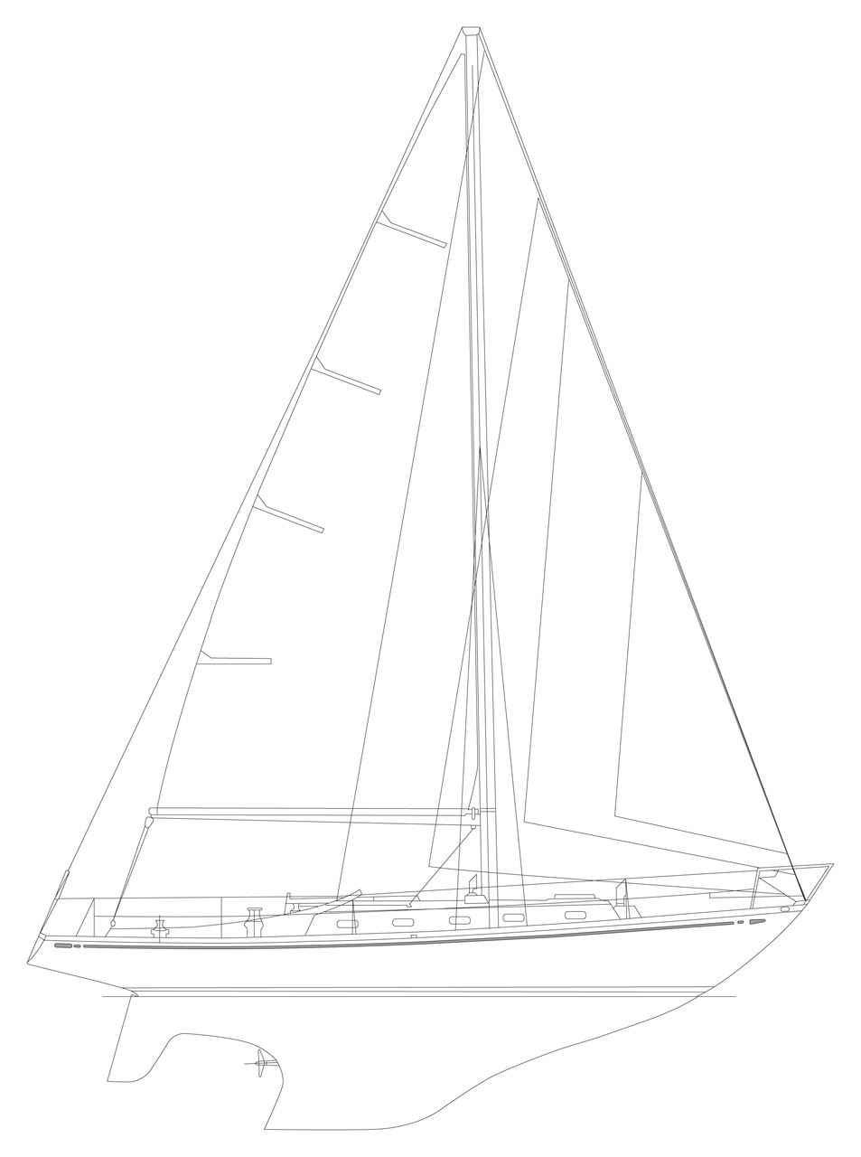 953x1280 Nautor's Swan Swan Heritage