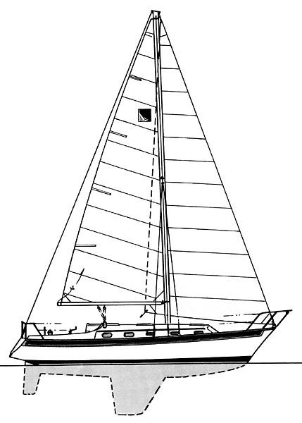 Sailboat Line Drawing at GetDrawings com | Free for personal