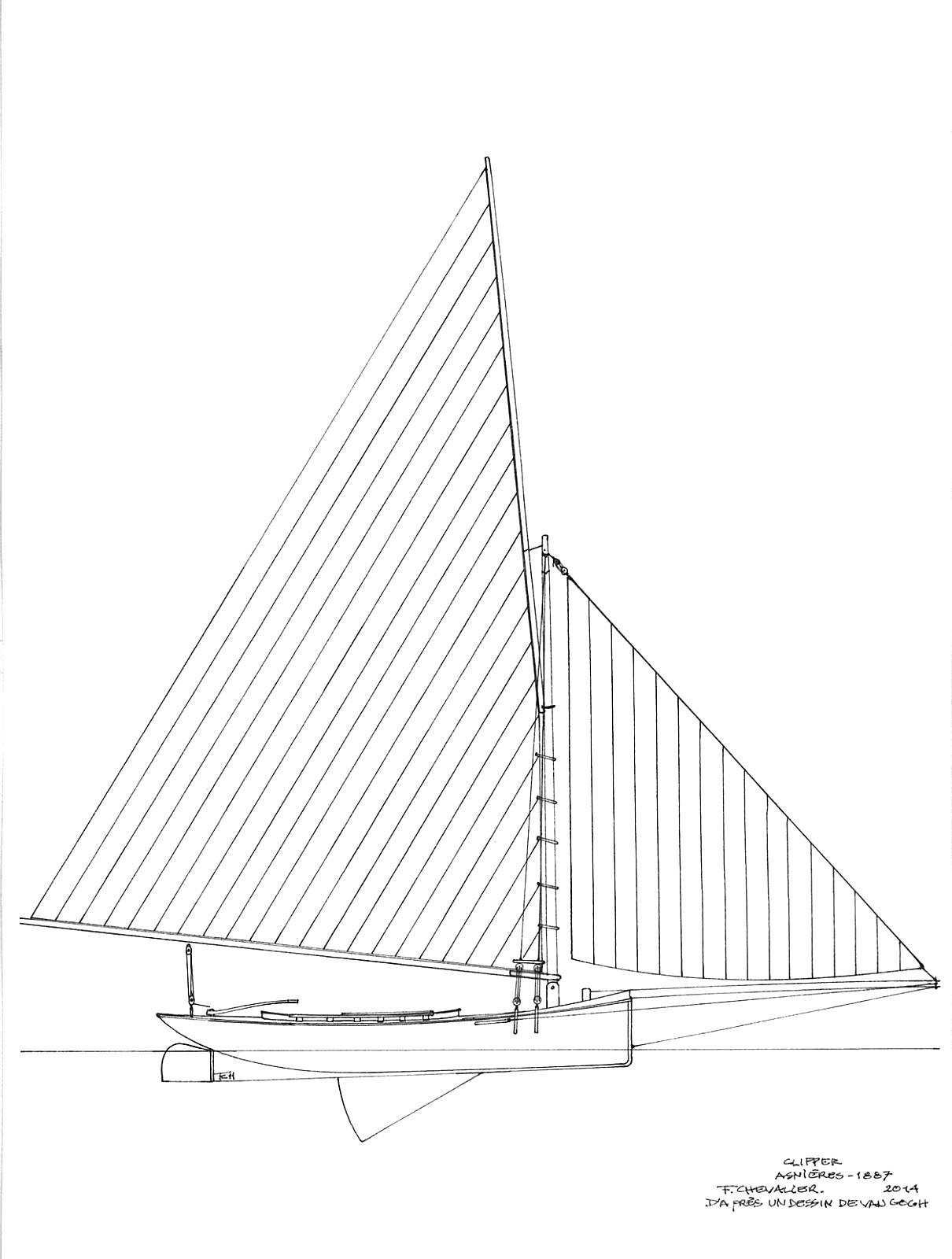 1210x1600 Earwigoagin 1858 French Sandbagger