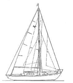 236x268 1965 Pearson Vanguard, Clatyon, Ny Sailboats 32'