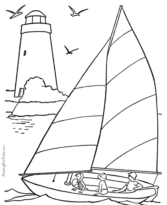 670x820 Boat Coloring Pages 2