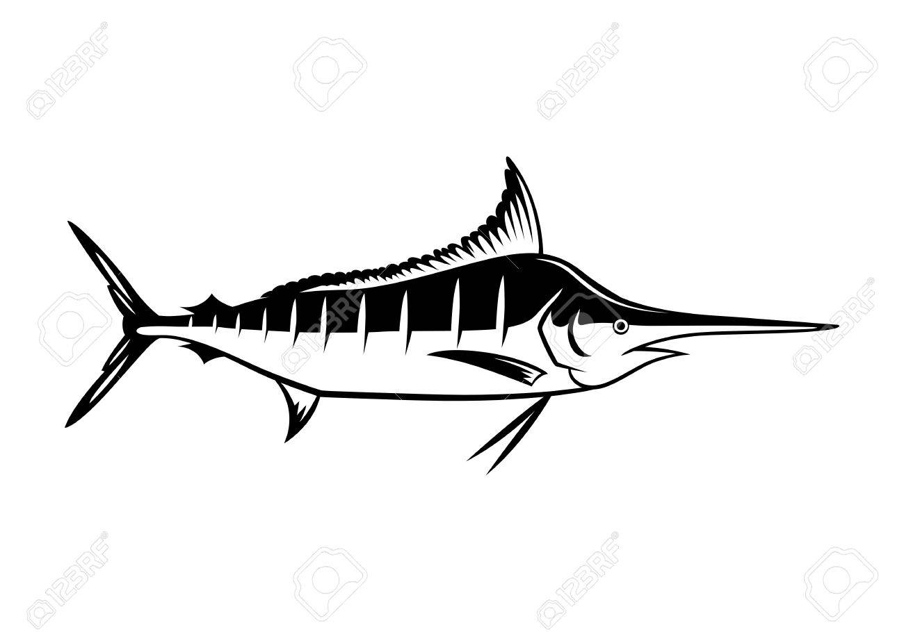 1300x910 Graphic Marlin Icon Royalty Free Cliparts, Vectors, And Stock