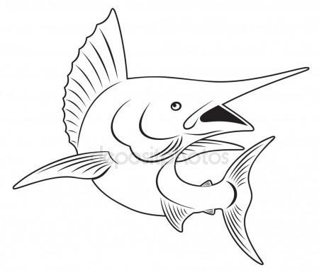 450x385 Marlin Fish Logo Stock Vectors, Royalty Free Marlin Fish Logo